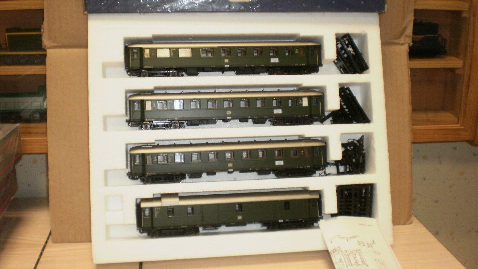 Set 4 voitures type 36 DB époque 4 lima collection