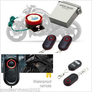 Multifunction Motorcycles Antitheft Engine Start Alarm Remote Control Safety Kit