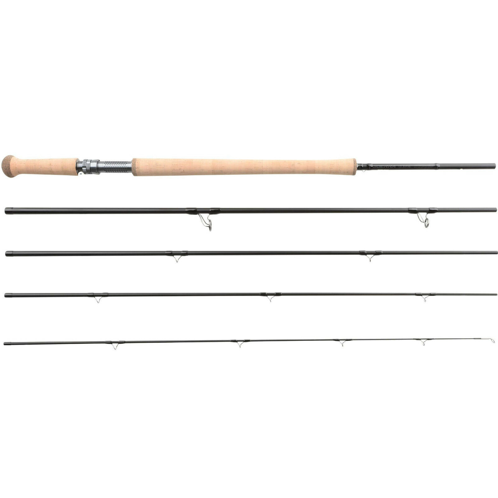 SCIERRA SURGE DOUBLE HANDED FLY ROD 15ft 5pc line brand new