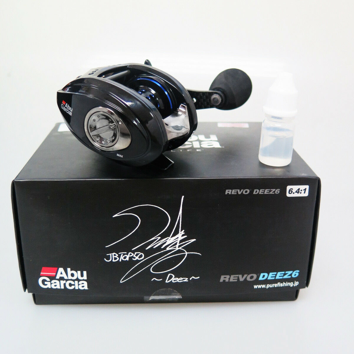 ABU REVO DEEZ6 Baitcast Reel RIGHT HANDED Fedex Priority Express ship to Usa