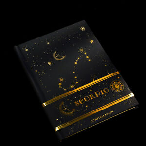 034-Golden-Constellation-034-1pc-Gilded-Hard-Cover-Diary-Notebook-Journal-Sketchbook