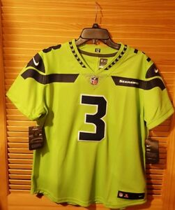 150 Wmn🏈 NIKE NFL SEATTLE SEAHAWKS Russell Wilson  3 LIMITED COLOR ... 5b8285396