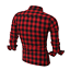 Men-039-s-Long-Sleeve-Casual-Check-Print-Cotton-Work-Flannel-Plaid-Shirt-Top thumbnail 7