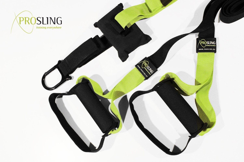 PROSLING Schlingentrainer Schlingentrainer Schlingentrainer Suspension Trainer Sling Bodyweight Workout Training 8442f9