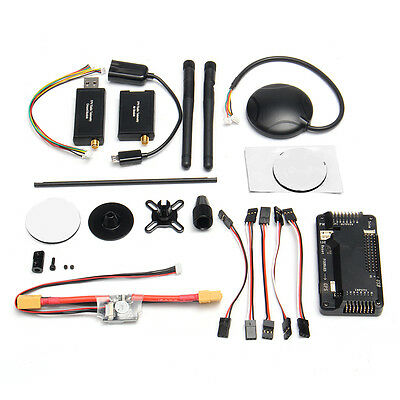 APM 2.8 ArduPilot Flight Controller+6M GPS+Power Supply Module+Telemetry 915Mhz