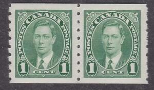 Canada-1937-238-King-George-VI-coil-stamps-MNH-VF