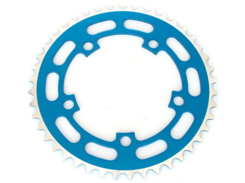 """Black Blue Red Gold Old School BMX Chainring 44T 1//8/"""" BCD 110mm"""