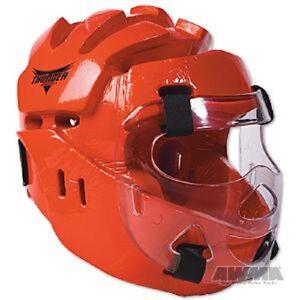 ProForce Lightning Karate Headgear Tae Kwon Do Sparring Head Guard Gear