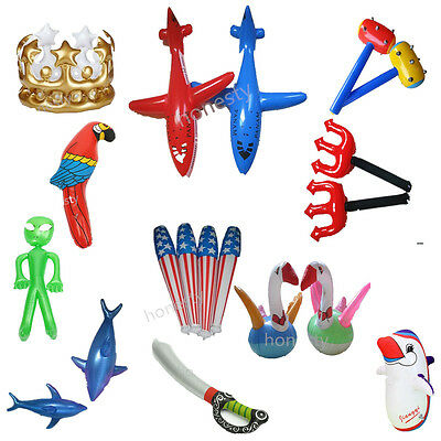 Inflatable Children Blow Up Toys Party Fancy Dress Pool Beach Swimming Kids Gift