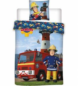 Fireman Sam Fire Truck Single Duvet