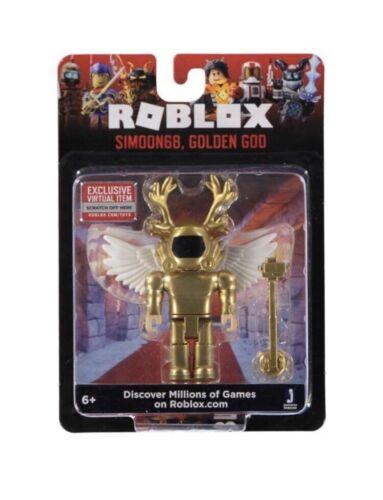 Brand New ROBLOX SIMOUN 68 Golden Dieu avec code!