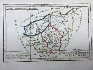 Corrèze en 1794 Juillac Ussel Argentat Allassac Meymac Treignac Uzerche Tulle