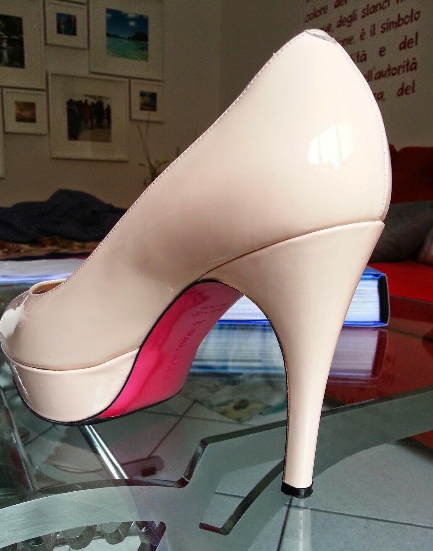 servizio onesto Scarpa Scarpa Scarpa donna PADOVAN n.39 vernicie rosa cipria  negozio di vendita outlet