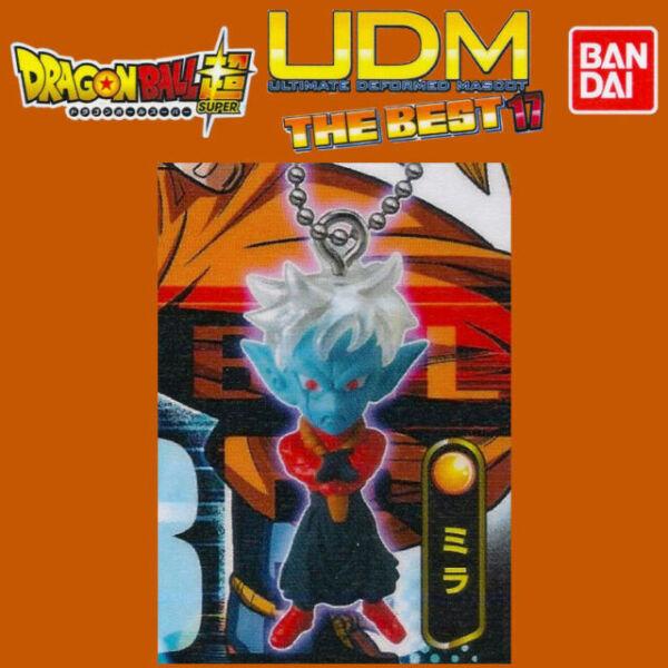 Dragon Ball Gashapon Keychain UDM The Best 14 3D Super Saiyan 3 Gohan