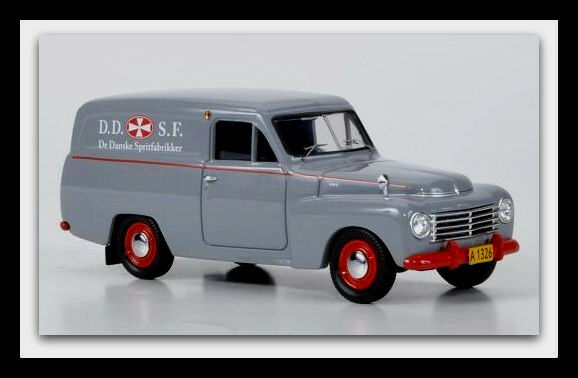 gran selección y entrega rápida Maravilloso MODELCoche Volvo PV 445 Duett PANELVAN  ddsf    1956-gris Rojo -1 43  diseños exclusivos