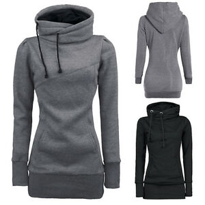 Women-Pullover-Hoodie-Sweatshirt-Sweater-Long-Sleeve-Hooded-Coat-Blouse-Tops-New