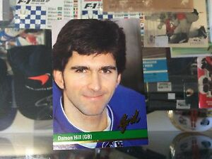 DAMON-HILL-GRID-COLLECTOR-CARD-41-FROM-1992-MINT-CONDITION