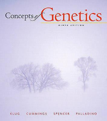 Concepts of Genetics by William S. Klug, Michael A. Palladino, Michael R. Cummin