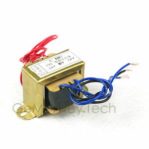 110vac power supply transformer 12v 2 doub 12vac 5w for amplifier amp ebay. Black Bedroom Furniture Sets. Home Design Ideas