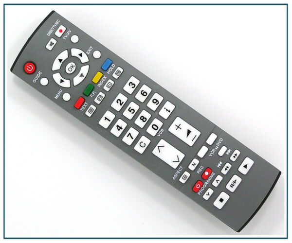 Télécommande De Remplacement Pour Panasonic Tv Tx-32le7f Tx-32le7f/s Tx-32le7fa