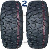 Two 24x8-12 24/8-12 24x8.00-12 24/8.00-12 24x800-12 24-800-12 Atv Tires P350