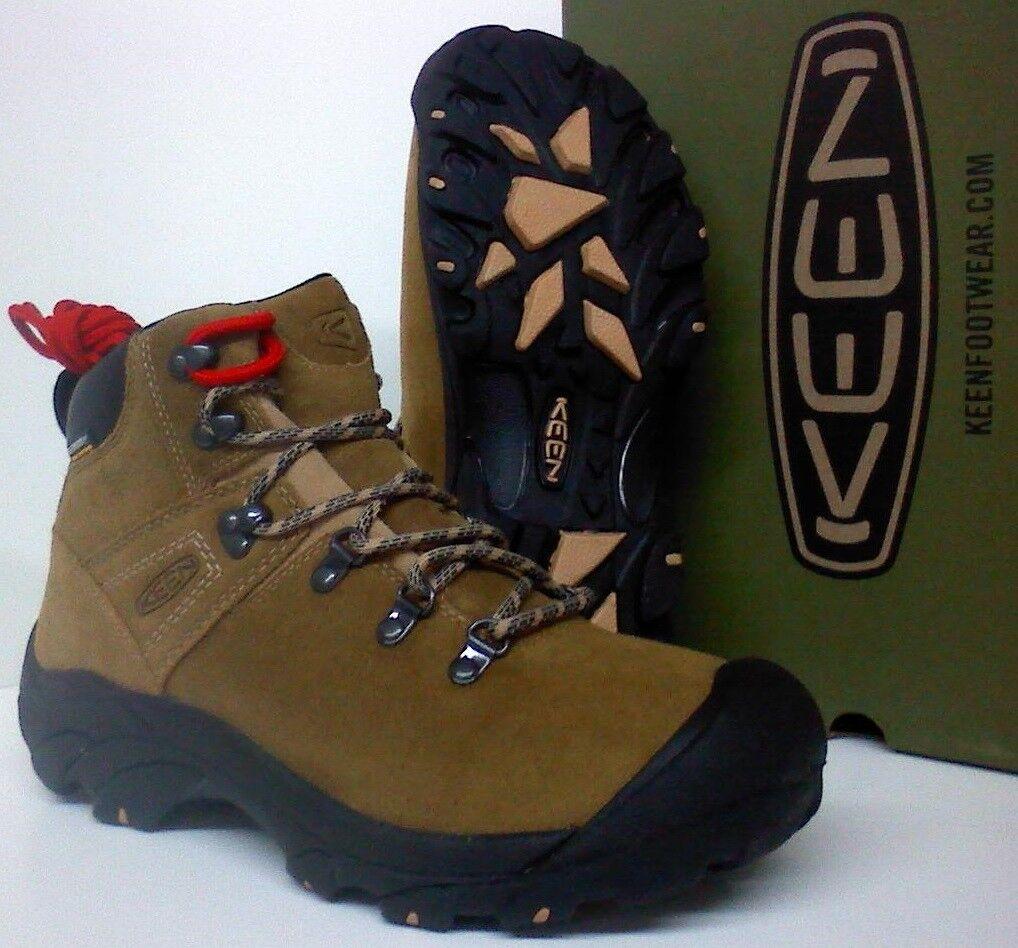 Keen pyrenees Para Hombre Senderismo botas De Trabajo-cuero-Keen. seco ® resistente al agua - 1017348