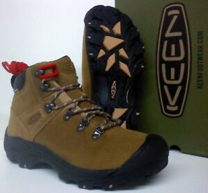 aff6e2c3266 Details about Keen Pyrenees Men's Hiking Work Boots - Leather - KEEN.DRY®  Waterproof - 1017348