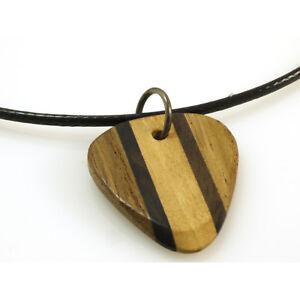 Konstruktiv Plektrum Aus Holz Mit Kette 50 Cm LÄnge Von Rockys 4