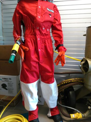 Clemco Seasonal Light Duty Sandblasting Suit S M Select Your Size or L