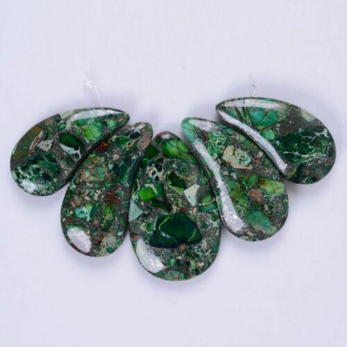 42mm-50mm Lotus gemstone pendant beads set For necklace design
