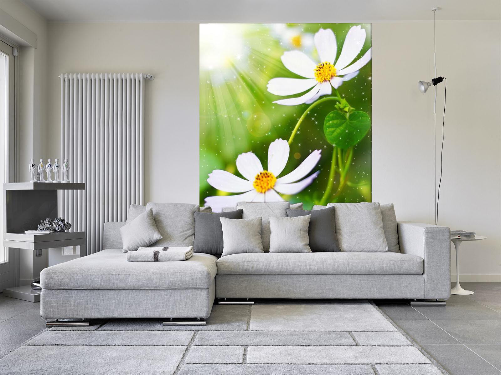 3D Sonnenschein Blumen 98 Tapete Wandgemälde Tapete Tapeten Bild Familie DE Kyra