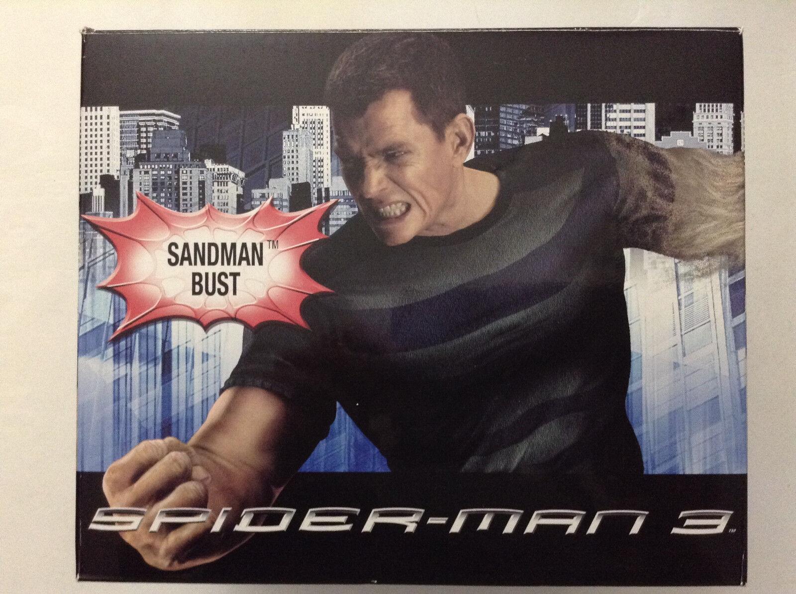 SANDMAN SPIDER-MAN 3 BUST MARVEL MIB DIAMOND SELECT GENTLE GIANT (STATUE 45