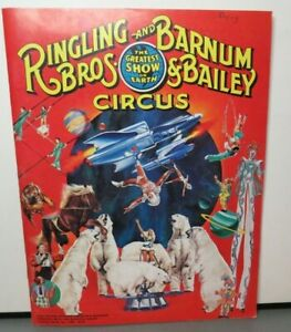 RINGLING BROTHERS AND BARNUM & BAILEY CIRCUS 110TH EDITION 1980