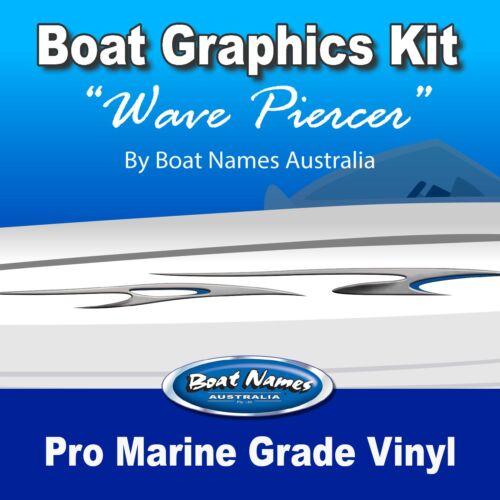 "1800/"" MARINE CAST VINYL BOAT GRAPHICS  DECAL STICKER KIT /""PRO FISHING"