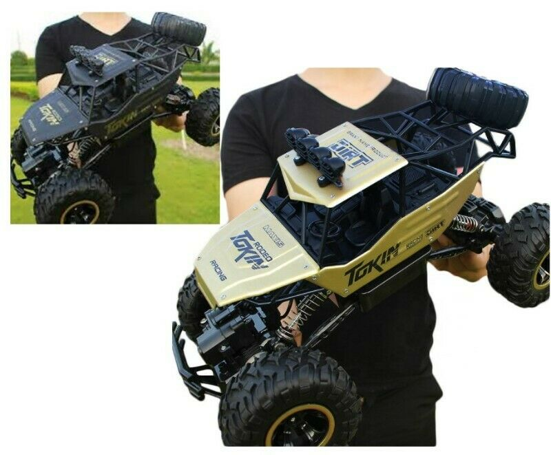 New! Rock Crawler 4WD Radio RC Racing Car