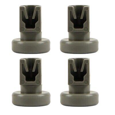 4X Dishwasher Lower Basket Wheel Kit For AEG FAVORIT Zanussi Privileg Durable U