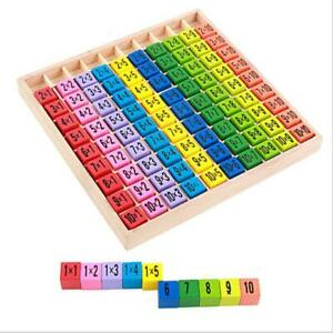 Montessori-Wooden-Math-Learning-Toy-10-10-Multiplication-Table-Digit-Block-HO3