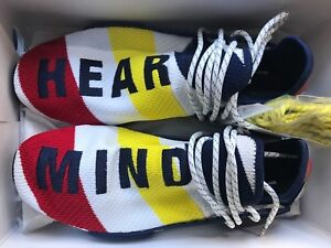info for 58cfa 7be6b Details about Billionaire Boys Club x Adidas Nmd Hu Pharrell 8-13 BBC Human  Race BB9544