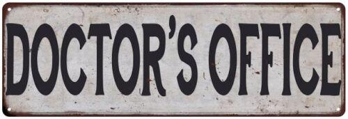 DOCTOR/'S OFFICE Vintage Look Rustic Metal Sign Chic Retro 106180035152