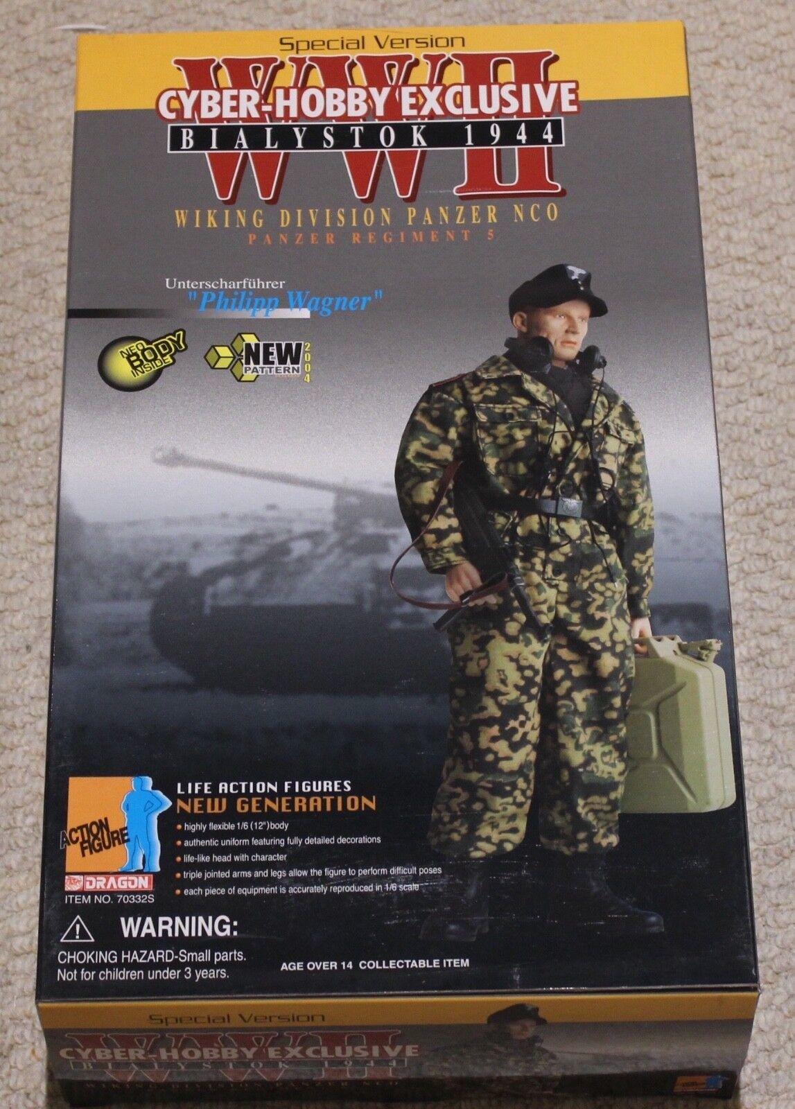 Dragon azione cifra 1 6 ww11 Tedesco Cisterna Wagner  12  in scatola ha fatto Cyber caliente giocattolo  sconto online di vendita