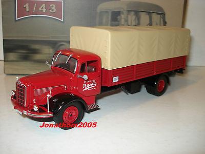 Ixo altaya truck d autrefois mercedes benz l325//la325 plateau bache at 1//43 °
