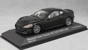 Minichamps-MASERATI-GRAN-TURISMO-MC-GT4-2010-in-Nero-400101202-2010-1-43-Ltd1296