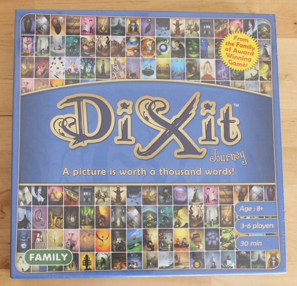 NYA SÄTT 2013 Dixit Journey Picture Worth 1,000 Words Family Board spel