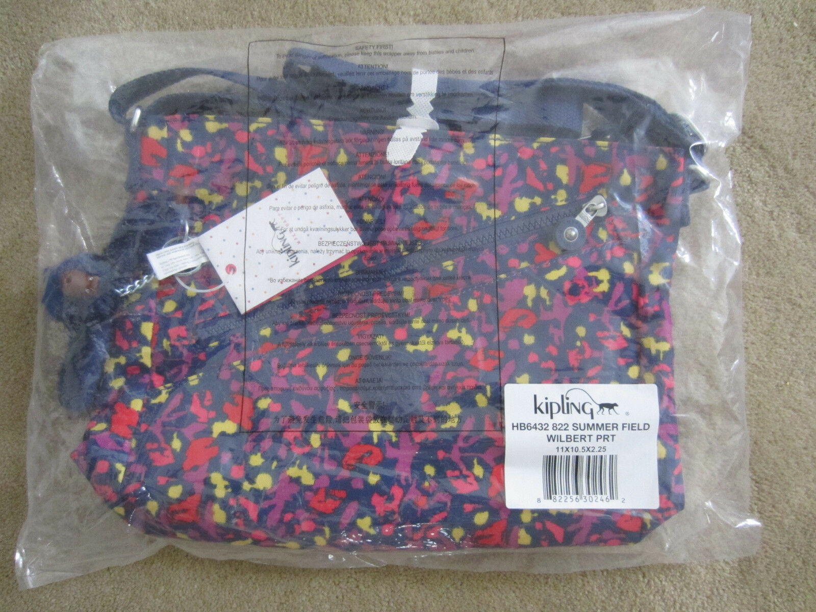 0666392821b Buy Kipling Hb6432 822 Wilbert Crossbody Shoulder Bag Summer Field ...