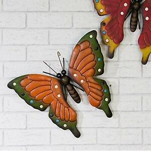 Dekorativer Schmetterling Garten Deko Wanddeko Terrasse