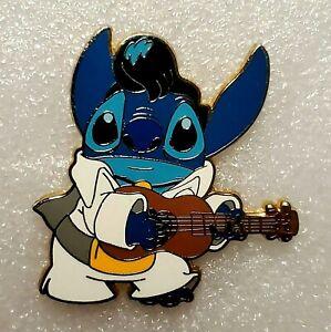 2008 Disneyland STITCH as ELVIS Playing Guitar Walt Disney Trading Pin HTF