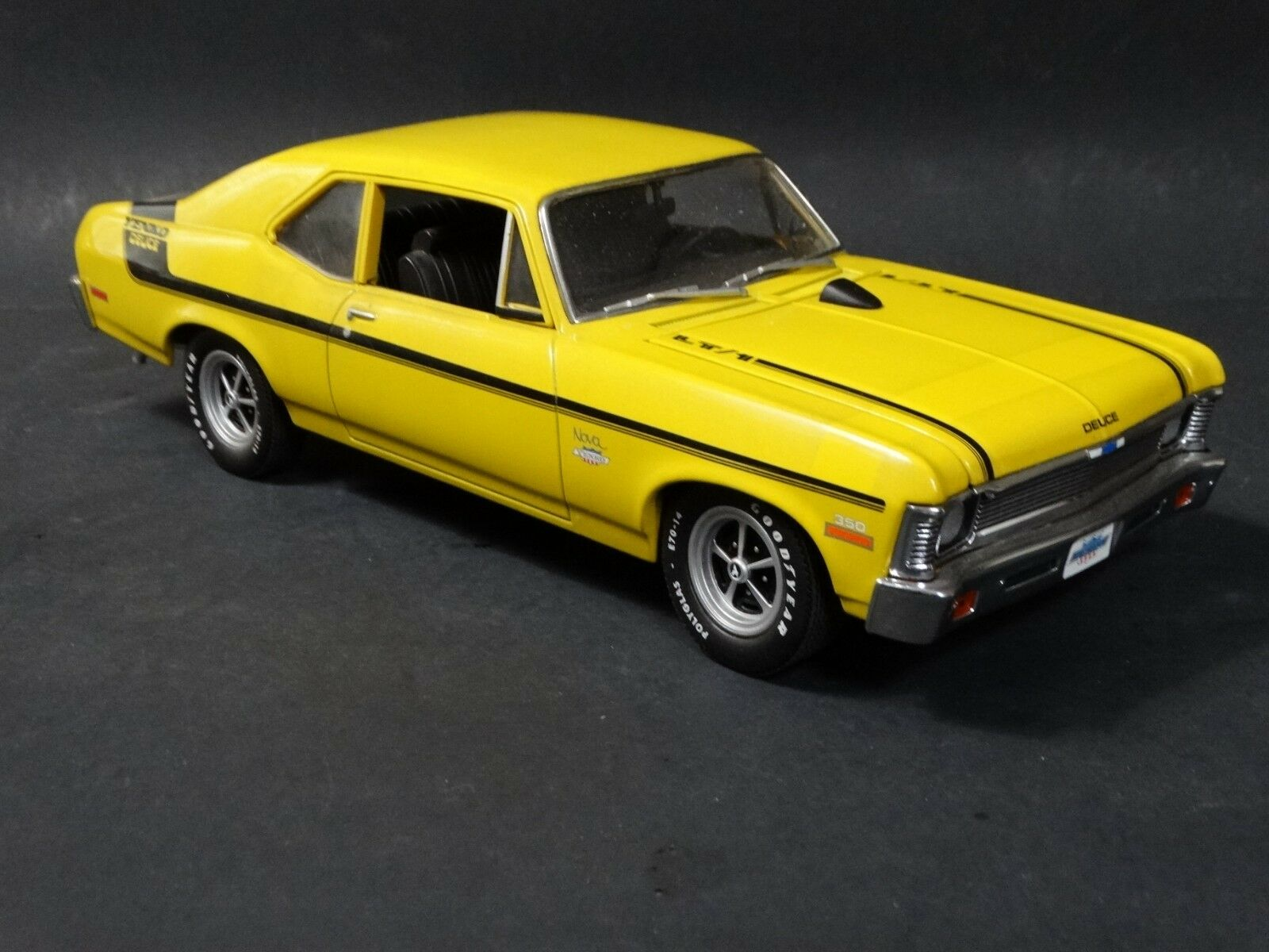 GMP 1968 Chevy Nova Yenko Deuce LT/1 Yellow 1:18 Scale Diecast Model Car Limited