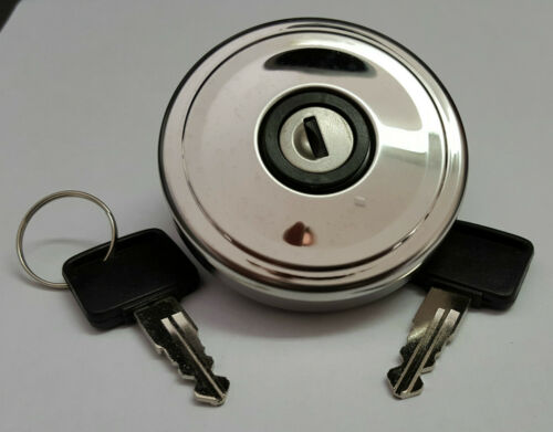 CLASSIC MINI COOPER STAINLESS STEEL NON-VENTED LOCKING GAS CAP WLD100660