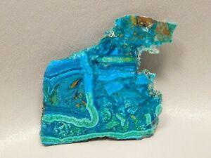 Chrysocolla-Malachite-2-25-inch-Polished-Endcut-Rock-Stone-Arizona-4