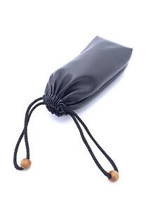 Leder-Rauchen-Tabak-Pfeife-Tasche-Case-Halter-Tasche-Lagerung-tragbare-Carry-schwarz